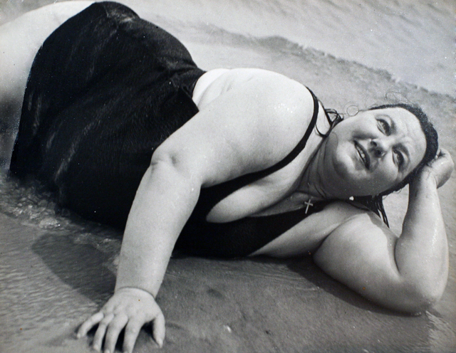 , 'Coney Island Bather, New York (Reclining),' 1939-1941, Bruce Silverstein Gallery