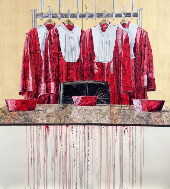 , 'Abgelegt und Aufgehangen,' 2013, G2 Kunsthalle