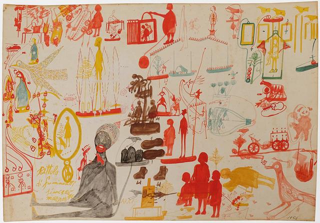 Carlo Zinelli, 'Untitled', 1956, Maroncelli 12