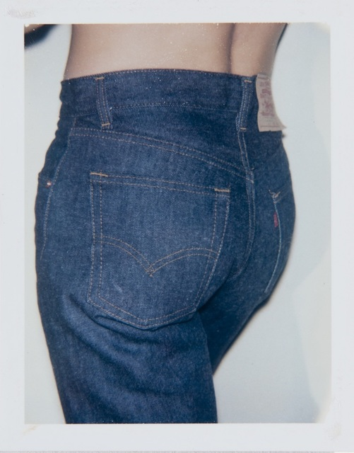 Andy Warhol, 'Andy Warhol, Polaroid Photograph of a Man in Blue Jeans', Hedges Projects