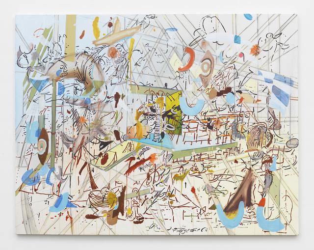 , 'Chicharron 2,' 2015, Johannes Vogt Gallery