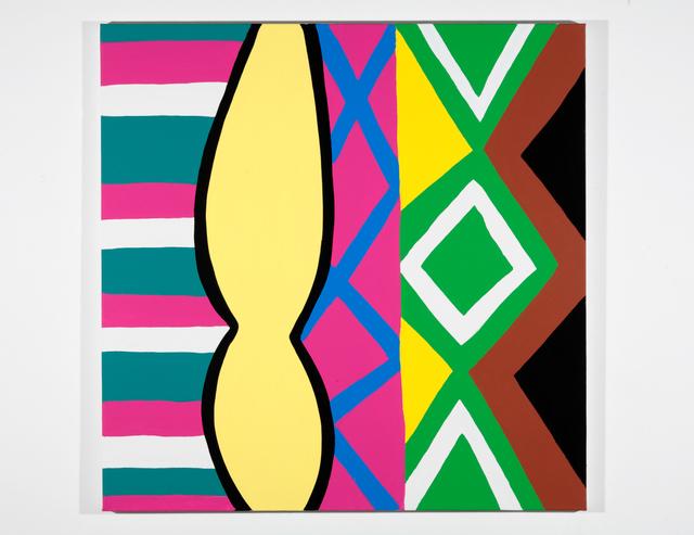 , 'Woman with Mirror. (Canvas #18),' 2007, Rosamund Felsen Gallery