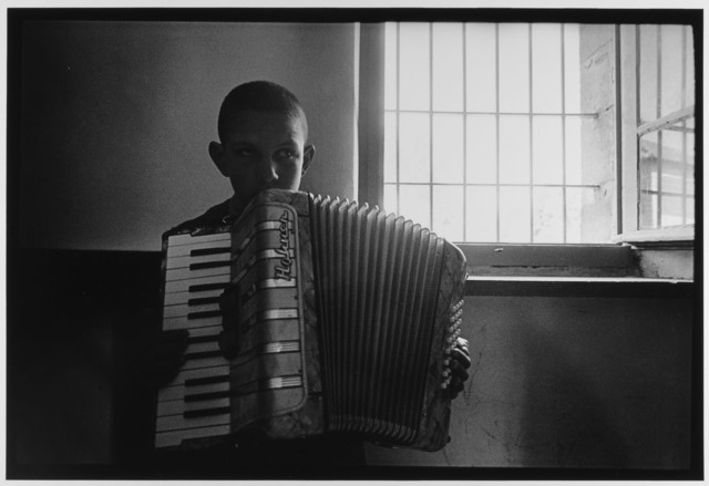 , 'Blind Boy Playing Accordion, Jerusalem, Israel,' 1967, Gallery 270