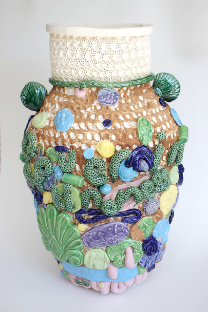 , 'nevereinthefieldofhumankindness large vessel for BC,' 2018, Mindy Solomon Gallery