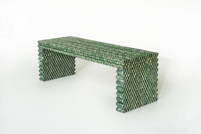 , 'one dollar bench,' 2015, Judy Straten