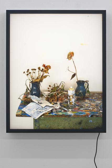 , 'Dead Flowers 3,' 2017, Galerie Rüdiger Schöttle