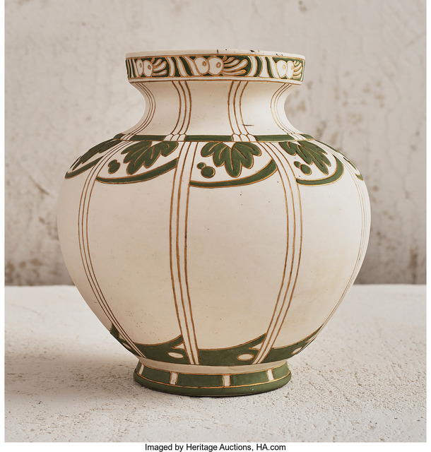 Unknown Artist, 'Foliage Vase', circa 1890, Heritage Auctions
