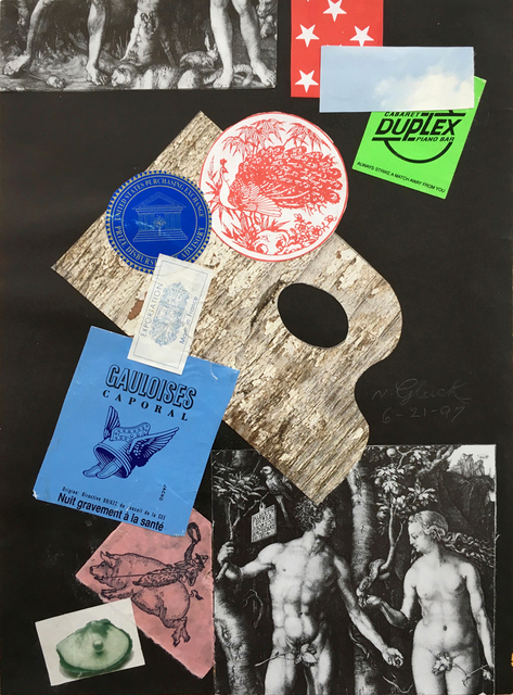 , 'Durer-able Collage,' 1997, Luis De Jesus Los Angeles