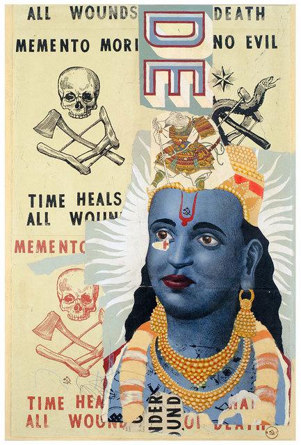 , 'Vishnu Contemplates Death,' 2016, Black Book Gallery