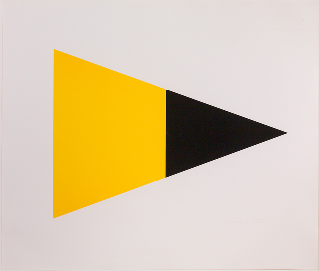 , 'Black/Yellow,' 1970-1902, Susan Sheehan Gallery
