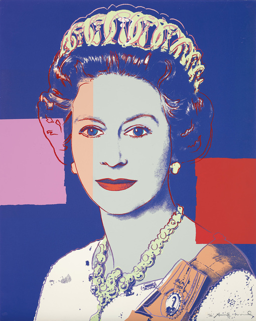 Andy Warhol, 'Queen Elizabeth II of the United Kingdom, from Reigning Queens', 1985, Print, Screenprint in colours, on Lenox Museum Board, the full sheet., Phillips