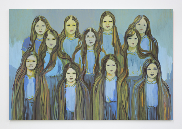 Claire Tabouret, 'The Blue Sentinels', 2016, Night Gallery