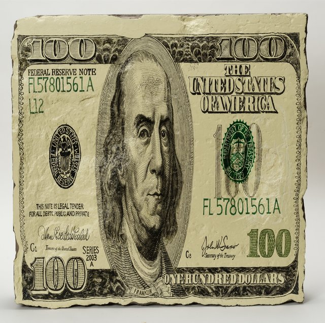 Wang Jin, '100 Dollars, from the Money Stones series', 2006, Heritage Auctions