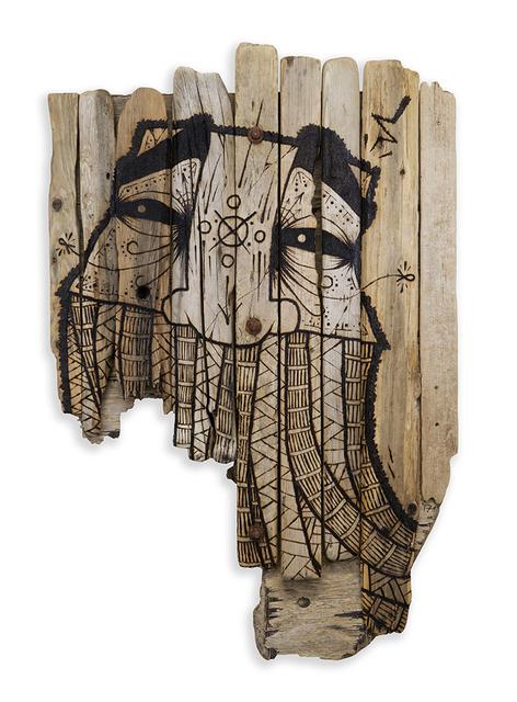 , 'Pyrograffiti,' 2017, Spoke Art
