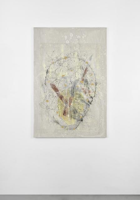 , 'Sans titre (tête blanche),' 2016, Galerie Christophe Gaillard