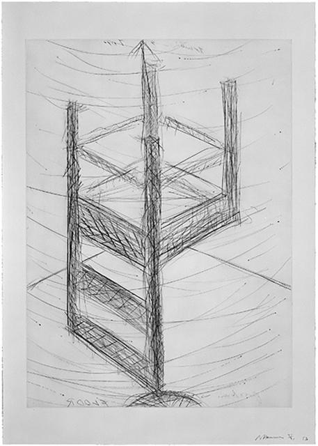 Bruce Nauman, 'Suspended Chair', 1985, Jim Kempner Fine Art