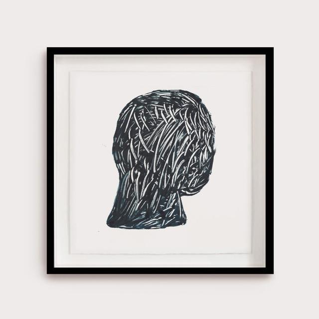 Henry Hussey, 'Buried V', 2019, Painting, Oil-Based Monotype on Paper, Anima Mundi