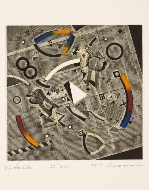 , '20+ GMT,' 1995, Meem Gallery
