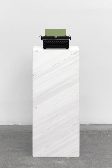 , 'Pause II (Red),' 2019, Mai 36 Galerie