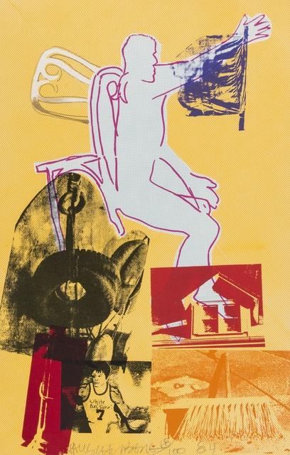 Robert Rauschenberg, 'Portrait of Merce', 1984, Forum Auctions
