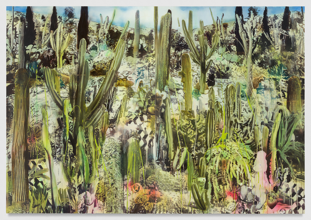 , 'Vibrational Dazzle in the Cactus Garden,' 2016, Honor Fraser