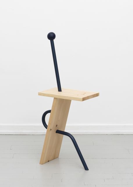 , ''Stuck-up' Chair,' 2017, Etage Projects