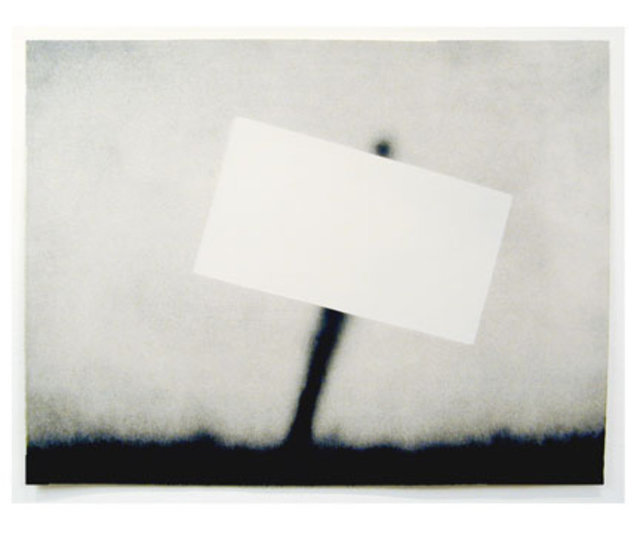Ed Ruscha, 'Untitled (Blank Sign)', 1989, Mark Moore Fine Art