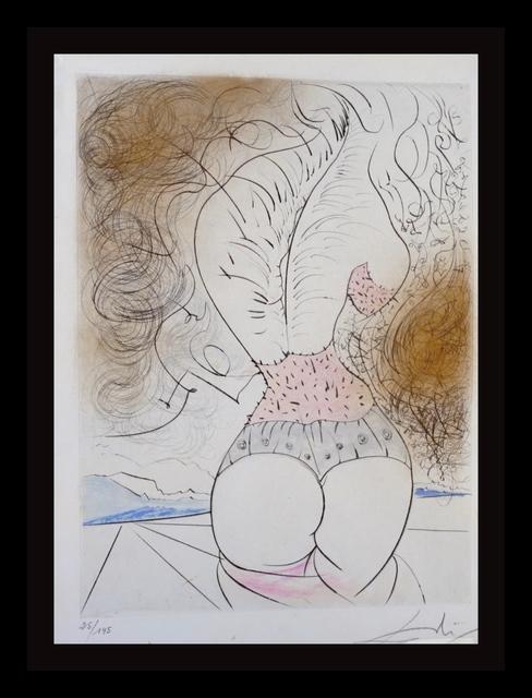 Salvador Dalí, ' La Venus aux Fourrures The Torso', 1968, Print, Etching, Fine Art Acquisitions Dali