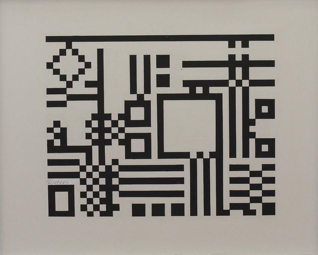 , 'Serie Evocacion Constructiva #1,' 1968, Leon Tovar Gallery