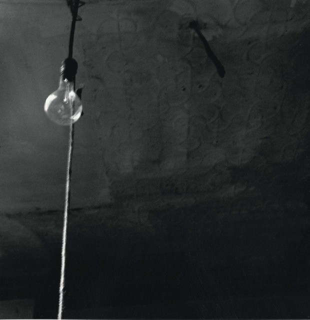 Robert Rauschenberg, 'Ceiling + Light Bulb', 1950, Gelatin silver print, Robert Rauschenberg Foundation