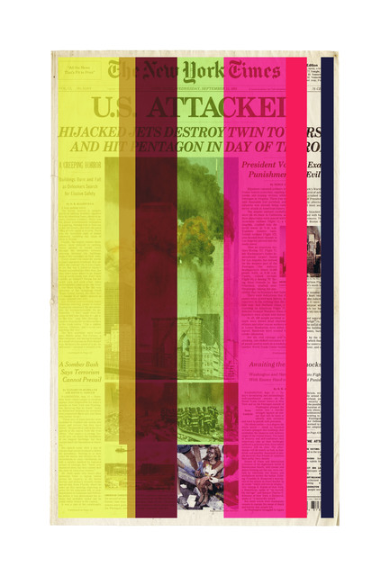 , 'Next Day Page A1,' 2015-2016, The FLAG Art Foundation