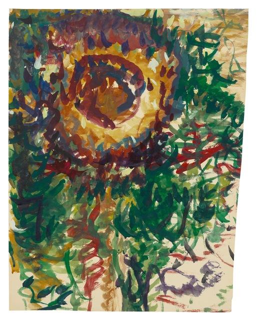 , 'Sunflower,' undated, New York Studio School
