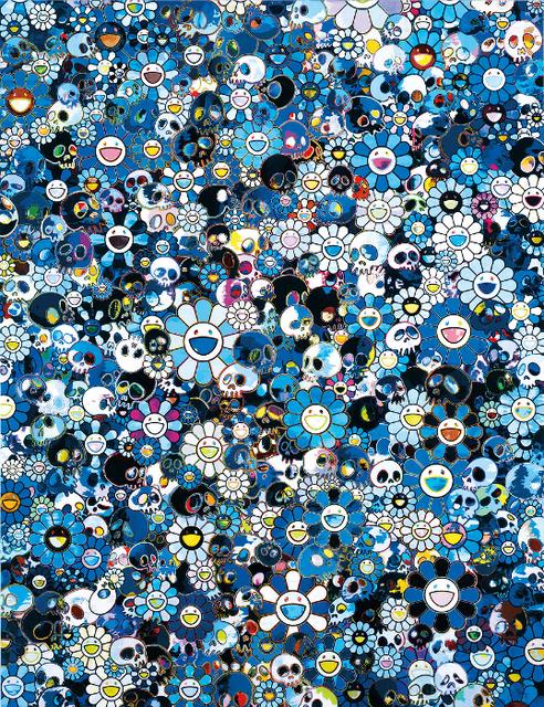 Takashi Murakami, 'Blue Flower & Skulls', 2012, Dope! Gallery