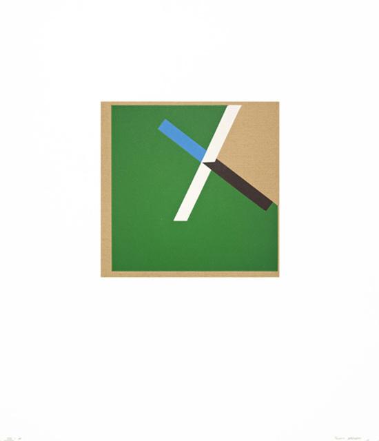 , 'Too Much Green I,' 2012, Tamarind Institute