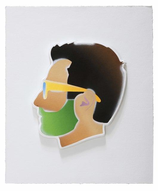, 'Self-Portrait,' 2017, Mixografia