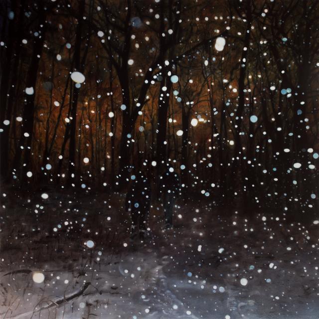 , 'A Walk in the Snow,' 2016, Abbozzo Gallery