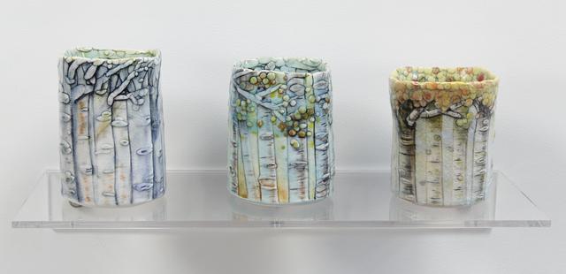 , 'Aspen Cup I, II & III,' 2016, Jane Hartsook Gallery