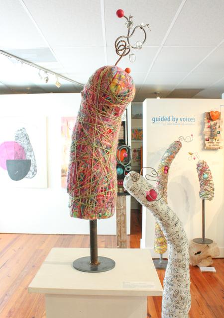 Robin Howard, 'Felix ', 2019, Sculpture, Wool fibers, found objects, Miller Gallery Charleston