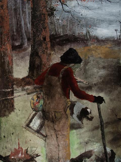 , 'The Fool,' 2016, Valley House Gallery & Sculpture Garden