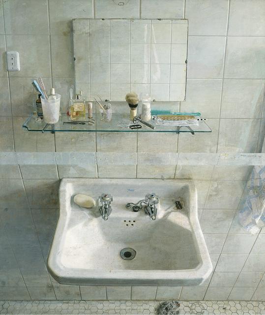 , 'Lavabo y Espejo (Sink and Mirror),' 1967, Museo Thyssen-Bornemisza