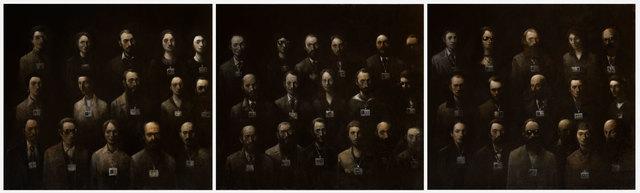 Goran Djurovic, 'Visitors III (Triptych)', 2019, Slete Gallery