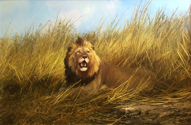 , 'In the Long Grass - Zambia,' , Trailside Galleries