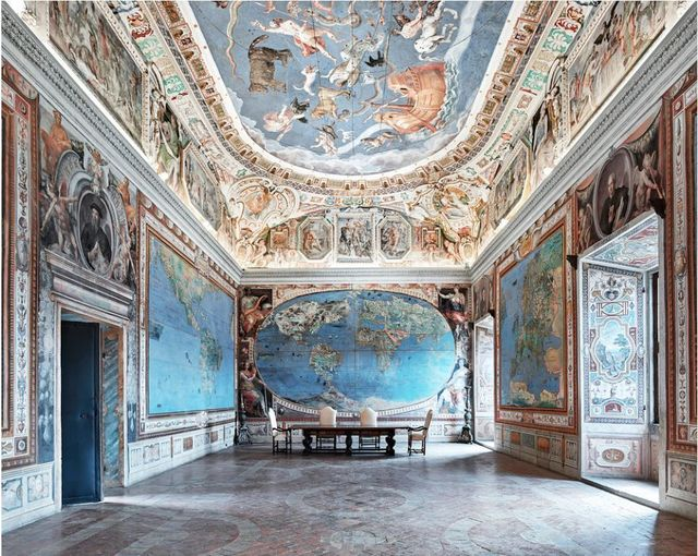 , 'Map Room, Caprarola, Italy,' 2016, Galerie de Bellefeuille