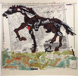 William Kentridge, 'Streets of the City,' 2009, Phillips: 20th Century and Contemporary Art Day Sale (February 2017)