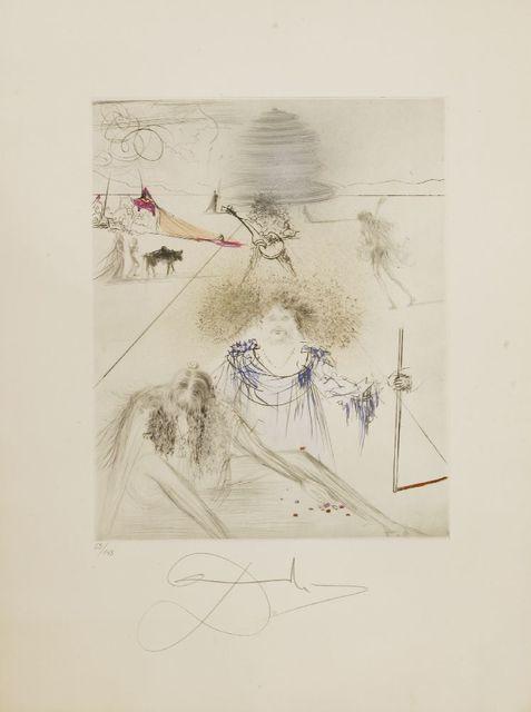 Salvador Dalí, 'LE VIEIL HIPPY (THE OLD HIPPY)', 1969, Sworders
