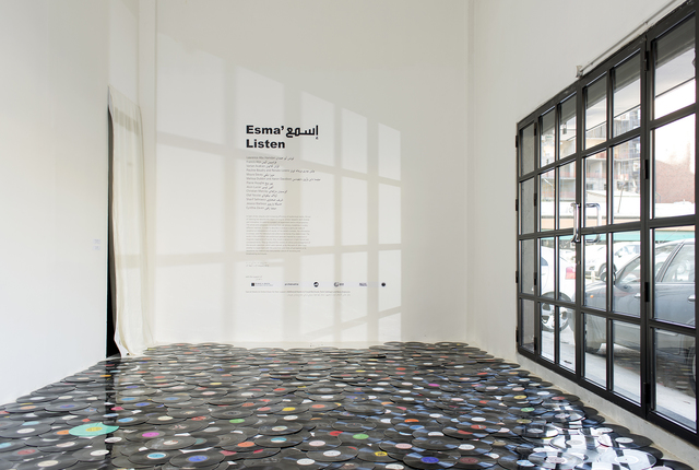 , '4,000,000 minutes,' 2000, Beirut Art Center