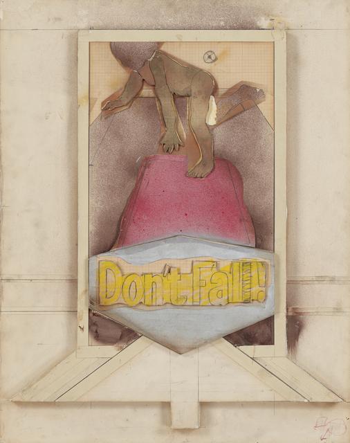 , 'DON'T FALL II,' 1966, Tibor de Nagy