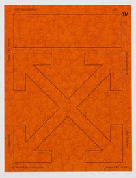 Memento Mori Fluorescent Orange