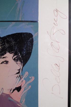 Andy Warhol, 'Bella Abzug (Rolling Stone Cover)', 1977, Ephemera or Merchandise, Poster, RoGallery
