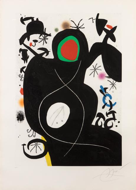 Joan Miró, 'L'aveugle parmi les oiseaux', 1978, Marlborough Graphics